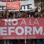 NO A LA REFORMA   Movimiento de Educadores  por la Paz de Uruguay